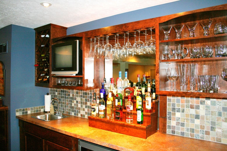 Great Back Wall Cabinets