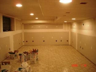 Beau Framed Basement Walls1, Basement Walls With Drywall1