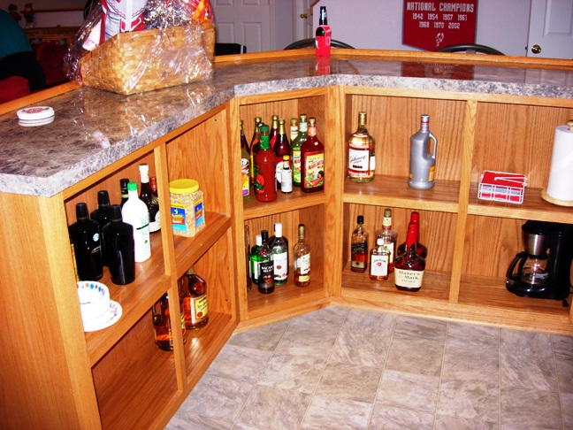 Buckeye Theme Home Bar 5
