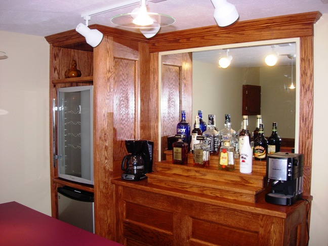 Charmant Custom Built Home Bar Medina 3