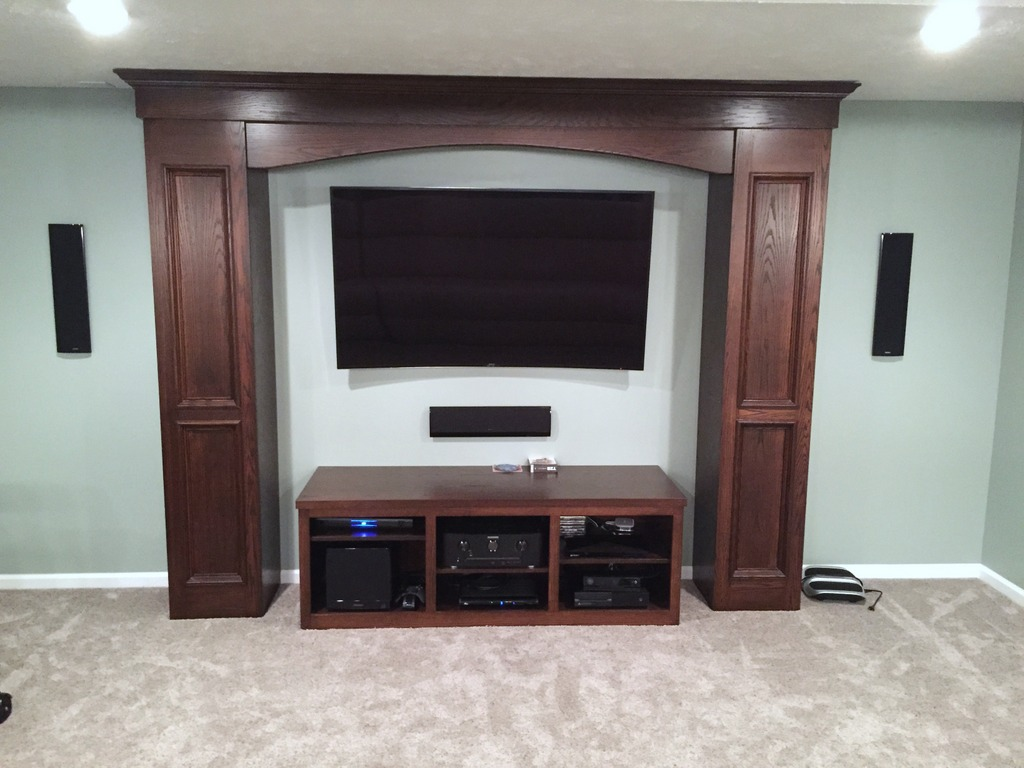 Gentil Custom Built Entertainment Center