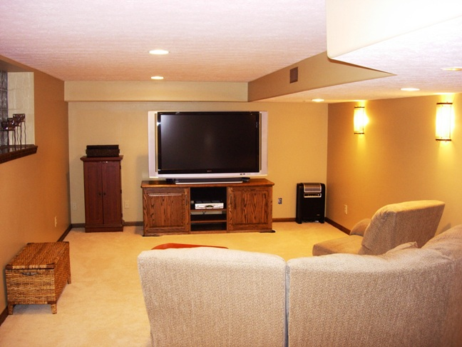 Finished basement images affordable likes comments bryan for Images of finished basements