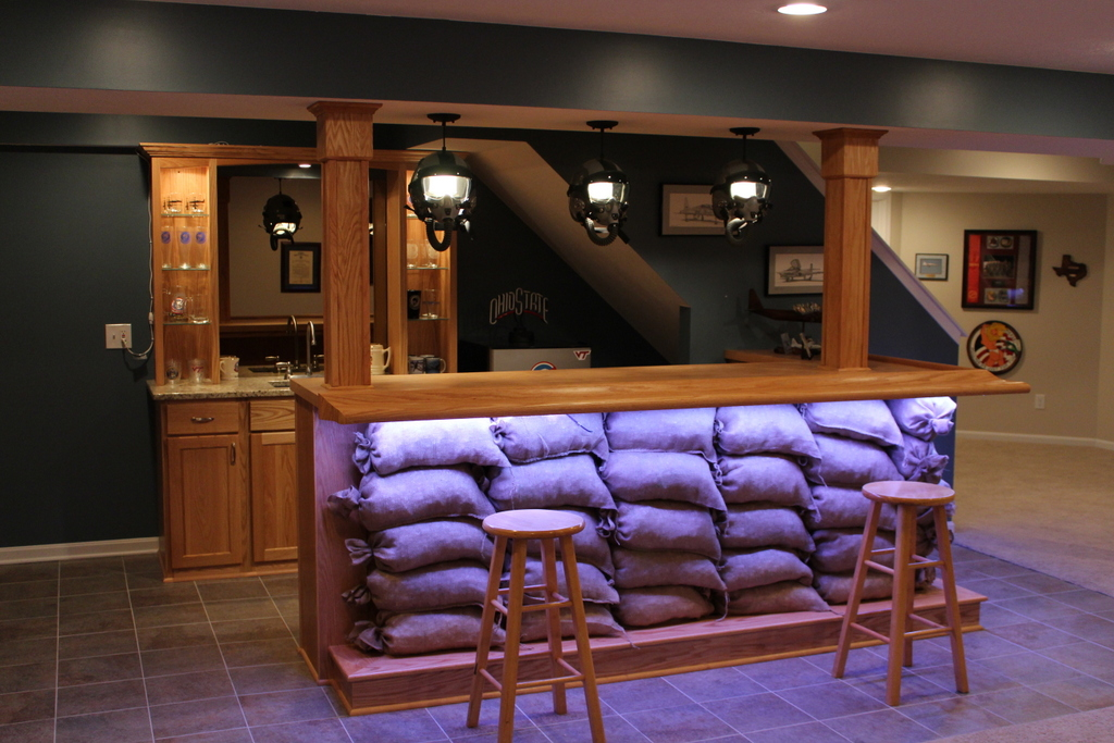 Custom Themed Home Bar