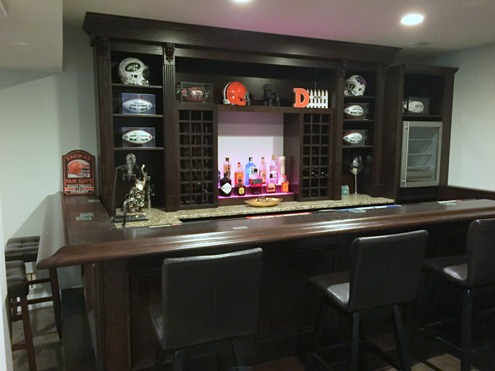 Once The Configuration Is Set, Our Designers Begin The Process Of  Identifying Details That Are To Be Incorporated In The Bar. While The Front  Bar And ...