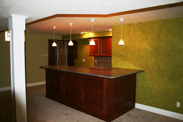 custom built home bars and entertainment centers